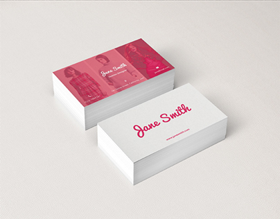 Pine - Business Card for Fashion Designers