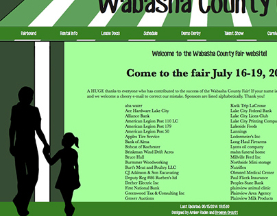 Wabasha County Fair Website