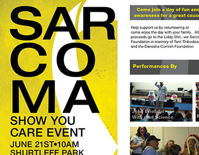 Sarcoma; Show You Care Event