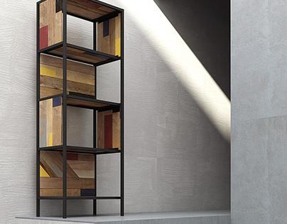 Planke Vertical Rack by Karpenter furniture