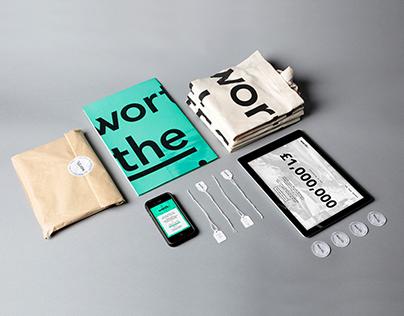 Worth Pop-Up Branding