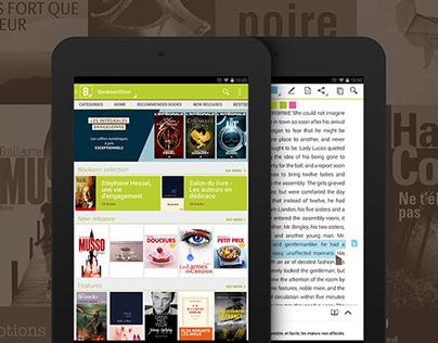 Bookeen app