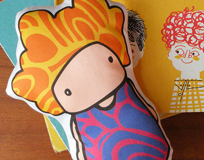 pattern / product design :: soft body dolls