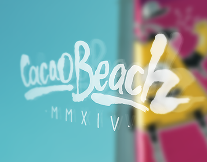 CACAO BEACH / season 2014 / branding