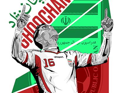 Iranian National Team Football Players