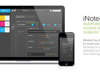 iNoted Mobile App - Brand Design