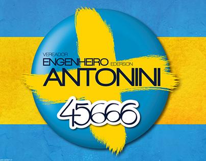 Campanha para Vereador Ederson Antonini 2012