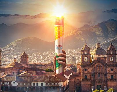 Juegos Panamericanos Lima 2019 - Antorcha