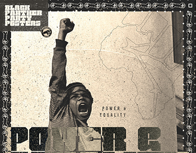 Black Panther Party Posters