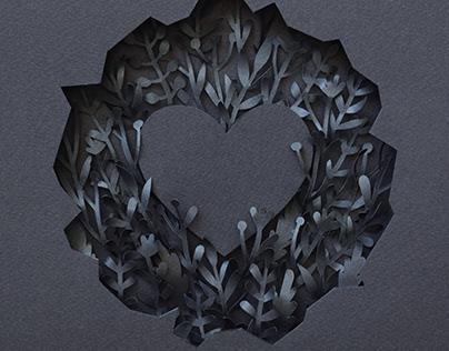 Heart | Paper art