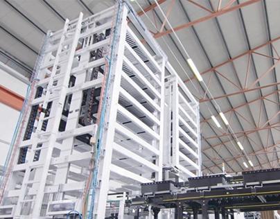 Simac Tech - VSS Vertical Storage System