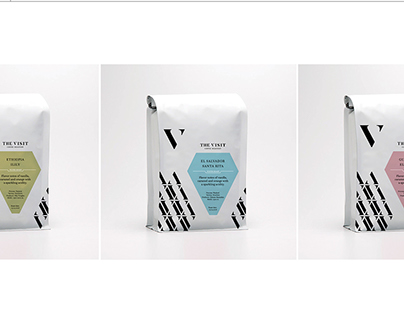 The Visit Coffee Roastery - Identity and packaging