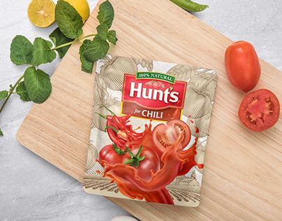 Hunt's Chili Sauce - Packaging