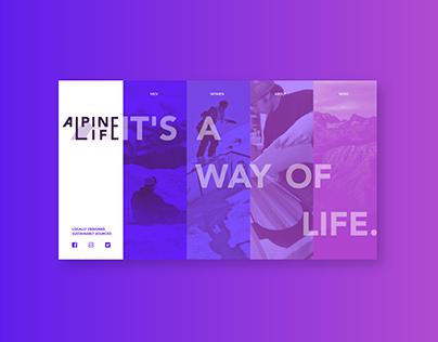 Alpine Life Branding Project