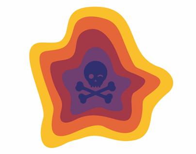 Логотип для самого загрязненного города Карабаша