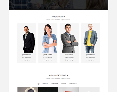 FEZ - Agency One Page Responsive