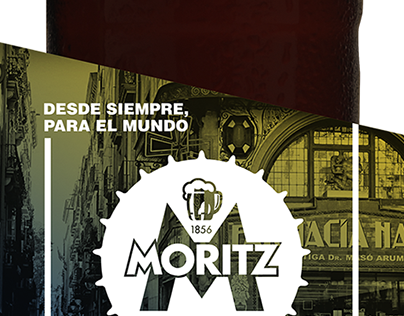 Cerveza gigante Moritz