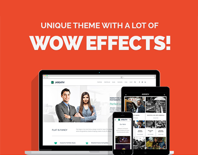 Jkreativ - Multi-Layer Parallax Multi-Purpose Theme