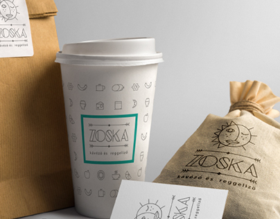 Zoska Coffe Branding