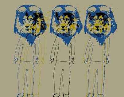 Cat Cat Lion Cat // Animated shortfilm.