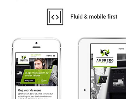 Website redesign Ambrero | 2013