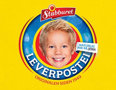 Stabburet Leverpostei (Packaging Design)