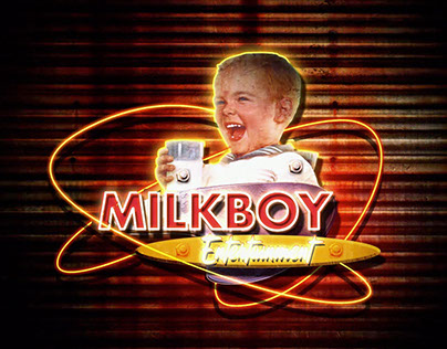 Milk Boy the Studio: Logo animation