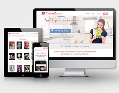 CleverCards Website