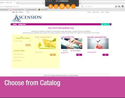 Ascension WebCRD End User Training Video