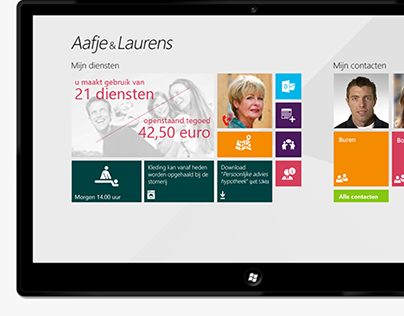 Aafje & Laurens Homecare Windows 8 App