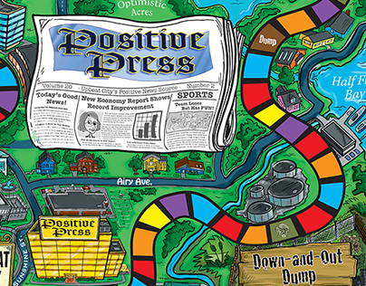 Positive Press Game