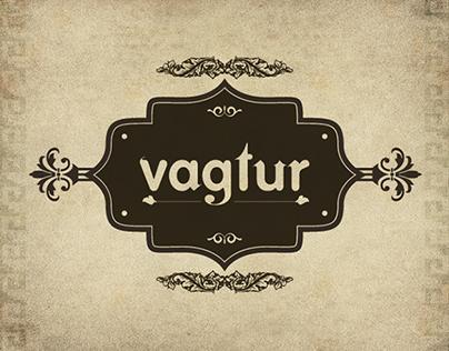 VAGTUR - Fontdesign