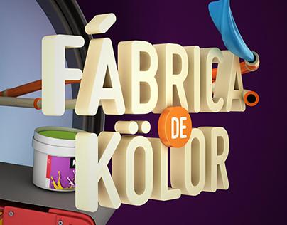 Fabica de Kolör 3D Illustration