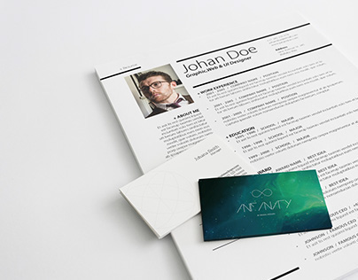 Clean Simple Resume V.1