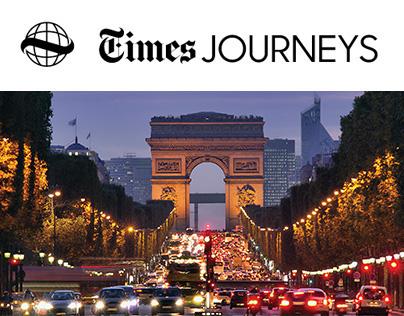 New York Times Journeys Traveler Website