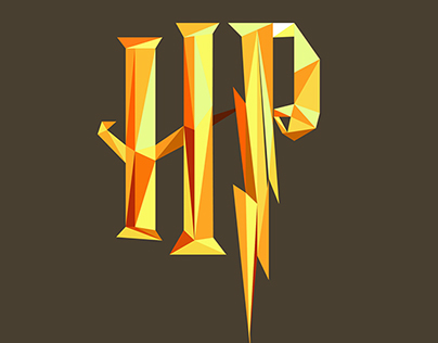 Harry Potter Low Poly