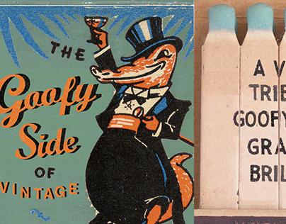 The Goofy Side of Vintage Matchbooks
