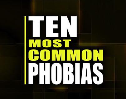 10 Most Common Phobias