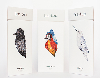 tre•tea  Packaging