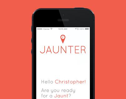 JAUNTER - Time Travel App