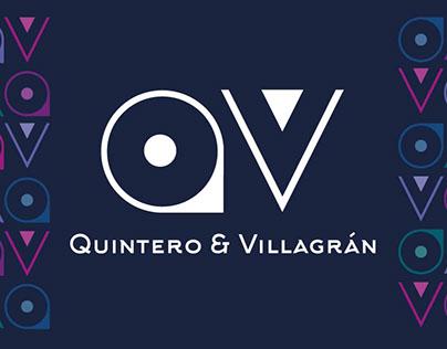 Identidad de marca Q & V