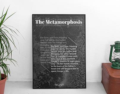 Poster About Metamorphosis of Kafka's