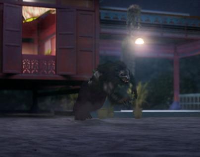 Getayangan Werewolf CG & VFX