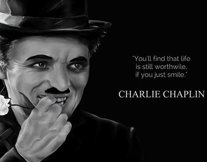 Chaplin Digital Sketch
