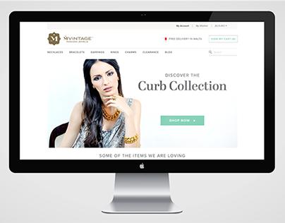 MVintage Jewels Website