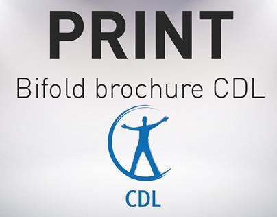 PRINT / Plaquette CDL