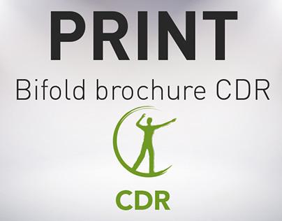 PRINT / Plaquette CDR