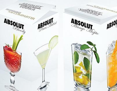 Absolut Vodka ⎪Miniature bottle gift box