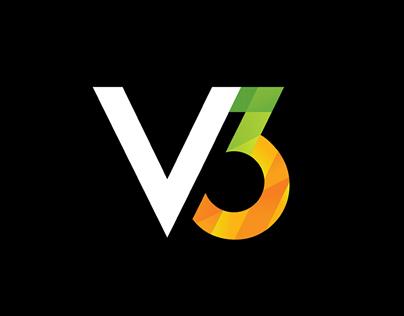 V3 Rebrand and Identity Makeover