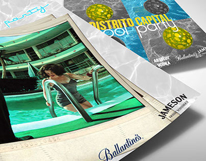 Event Invitation Flyer ⎪ Hotel Pool Party